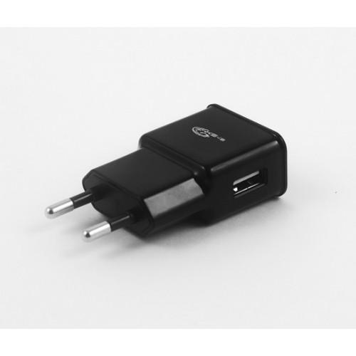 Зарядное ус-во (с кабелями) miniUSB/micro для цифр технки 2000мА от сети KS-is Mich (KS-003)