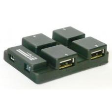 Расширитель портов (хаб) USB 2.0 на 4 порта KS-is Fots (KS-005)