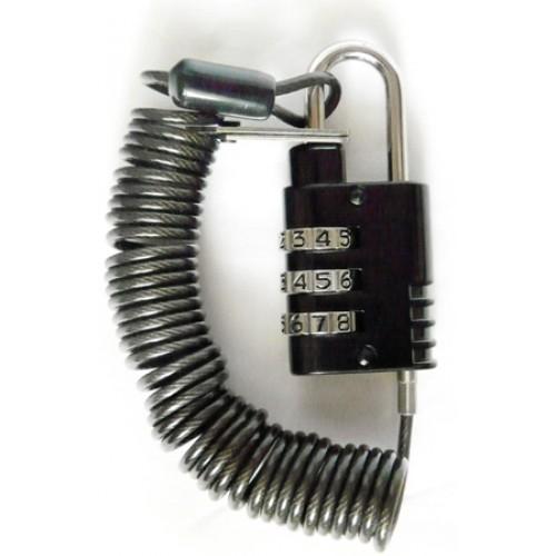 Трос безопасности для ноутбука с 3х значным кодовым замком KS-is Secon (KS-010)