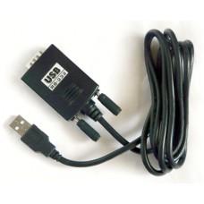 Кабель-адаптер USB на последовательный COM (RS-232) порт KS-is Coad (KS-012)