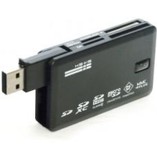 Устройство чтения/записи карт памяти (карт-ридер) 8 в 1 KS-is Crysi USB 2.0 (KS-016)