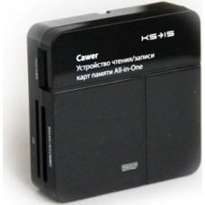 Карт-ридер все в 1 KS-is Cawer USB (KS-024)