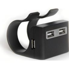 Мини хаб USB 2.0 на 4 порта KS-is Clipseh (KS-027)