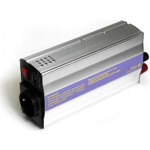 Инвертор (преобразователь питания 12->220В) от аккумулятора авто 500Вт KS-is Finvy (KS-051)