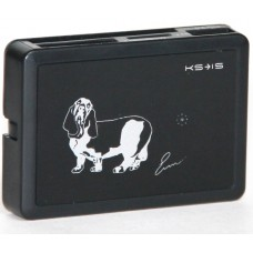 Устройство чтения/записи карт памяти Hubry со встроенным USB хабом на 3 порта (KS-054)