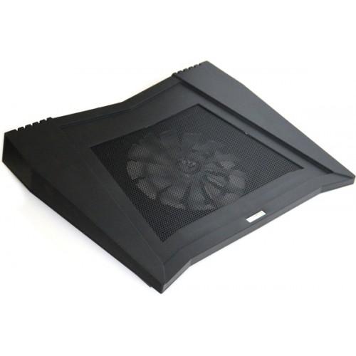 Охлаждающая подставка  для ноутбука с USB 2.0 хабом, аудио 2.0 KS-is Bifser (KS-062)