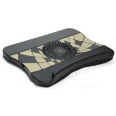 Охлаждающая подставка Softer с подушкой, для ноутбука (KS-077)