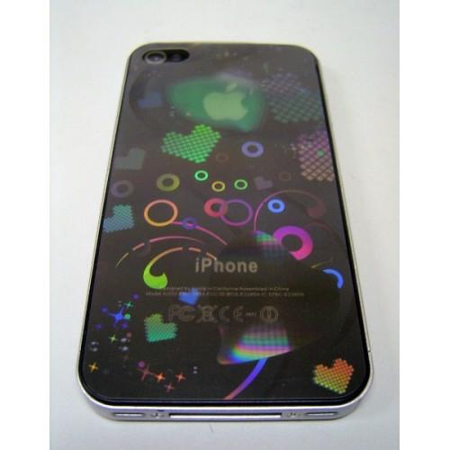 Защитная пленка KS-is с лазерной гравировкой для iPhone 4/4s (the power of love) (KS-101D)