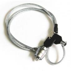 Трос безопасности для цифровой техники с замком и ключом KS-is Sikler (KS-118)