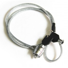 Трос безопасности для ноутбука с замком и ключом KS-is Sikler (KS-118)