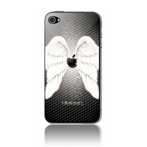 Защитная пленка KS-is (KS-138AN) с 3D рисунком Angel для iPhone 4/4s