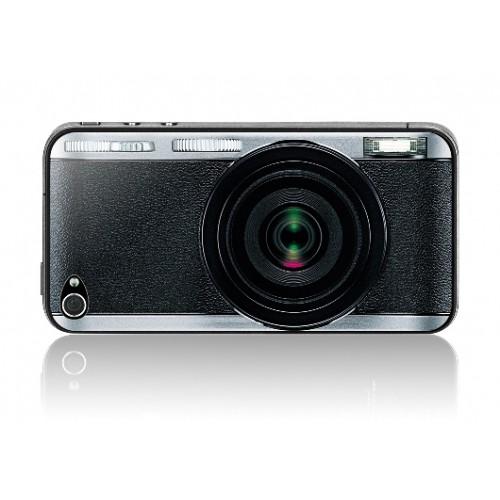 Защитная пленка KS-is (KS-138CA) с 3D рисунком Camera для iPhone 4/4s