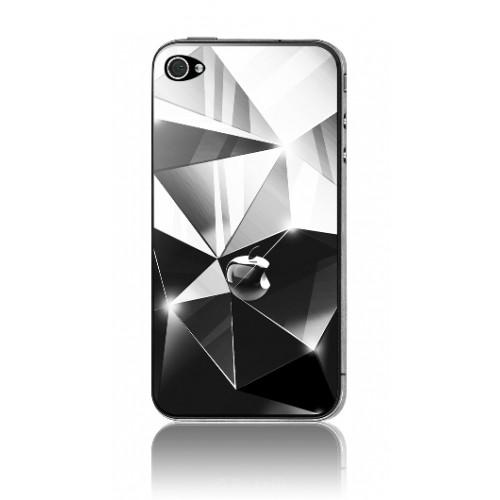 Защитная пленка KS-is (KS-138DI) с 3D рисунком Diamonds для iPhone 4/4s