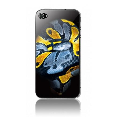 Защитная пленка KS-is (KS-138SN) с 3D рисунком Snake для iPhone 4/4s