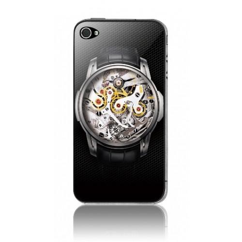 Защитная пленка KS-is (KS-138WT) с 3D рисунком Watches для iPhone 4/4s