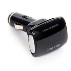 """ФМ модулятор 1.2""""/USB, SD/USB ЗУ KS-is Larse (KS-159)"""