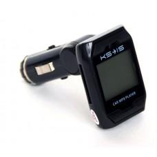 FM модулятор USB, SD, microSD KS-is Simz (KS-162)