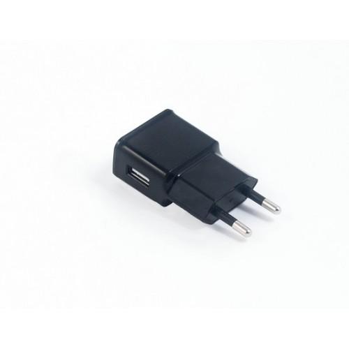 Зарядное устройство USB с кабелями microUSB и Samsung 30pin от электрической сети KS-is Qich (KS-168)