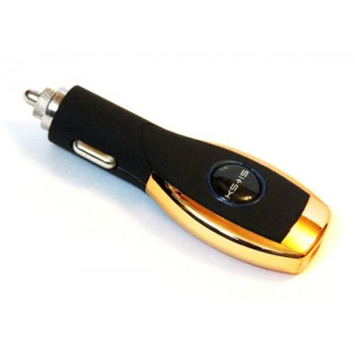 Зарядное устройство USB от прикуривателя авто KS-is Mezzo (KS-197)