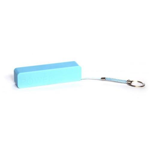 Универсальная батарея-брелок KS-is (KS-200Blue) 2200мАч для портативной цифровой техники, голубой