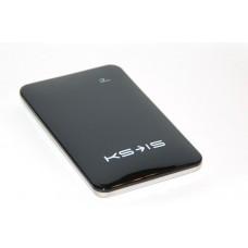 Универсальная батарея KS-is  Power10000 (KS-215Black) для порт цифр техники, литий-полимер, черная