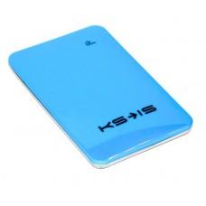 Универсальная батарея KS-is  Power10000 (KS-215Blue) для порт цифр техники, литий-полимер, голубая