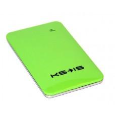 Универсальная батарея KS-is  Power10000 (KS-215Green) для порт цифр техн, литий-полимер, зеленая