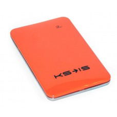 Универсальная батарея KS-is  Power10000 (KS-215Orange) для порт цифр техн, литий-полимер, оранжевая