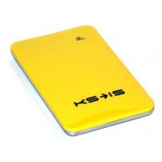 Универсальная батарея KS-is  Power10000 (KS-215Yellow) для порт цифр техн, литий-полимер, желтая