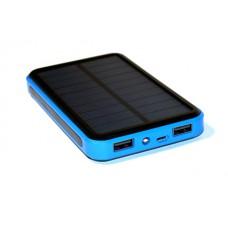 Универсальная батарея KS-is Lisu (KS-225Blue) 13800мАч со встроенной солнечной панелью, синяя