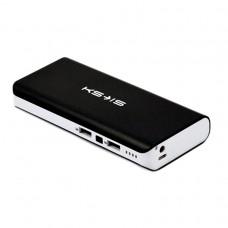 Внешний аккумулятор power bank KS-is (KS-229Black) 16800мАч, черная