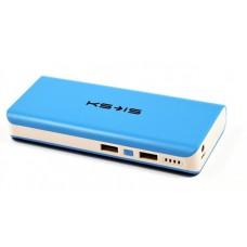 Внешний аккумулятор power bank KS-is (KS-229Blue) 16800мАч, синяя