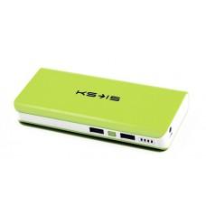 Внешний аккумулятор power bank KS-is (KS-229Green) 16800мАч, зеленая