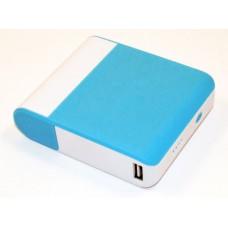 Универсальная батарея с зеркальцем KS-is (KS-243Blue) 8000мАч, голубая