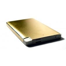 Универсальная батарея KS-is (KS-277Gold) 6000мАч для портативной цифровой техники золотистая
