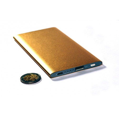 Универсальная батарея KS-is (KS-278Gold) 8000мАч для портативной цифровой техники золотистая