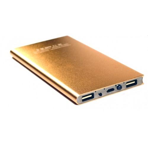 Универсальная батарея KS-is (KS-279Gold) 10000мАч для портативной цифровой техники золотистая