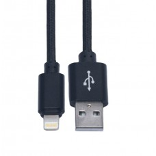 Кабель USB-Lightning KS-is (KS-283B) 1м чер