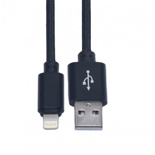 Кабель USB-Lightning KS-is (KS-283B) 1м чер