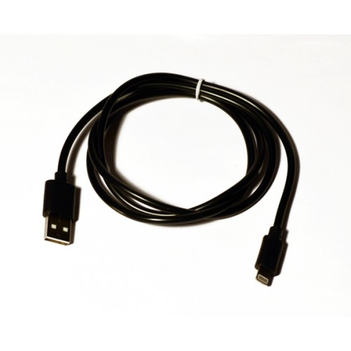 Кабель USB-Lightning KS-is (KS-284B) 1м чер