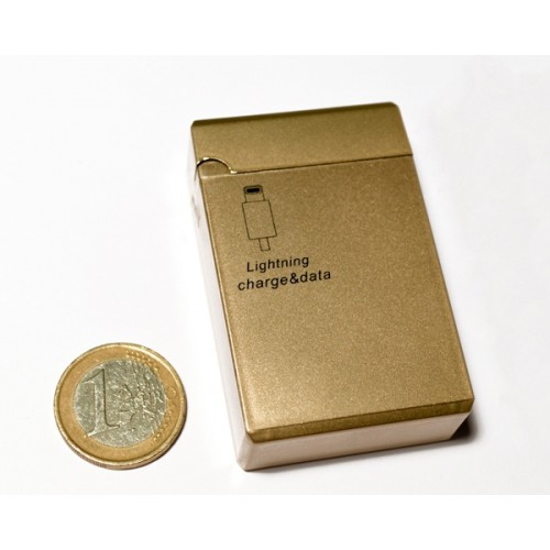 Кабель USB-Lightning KS-is (KS-292Gold) золотой