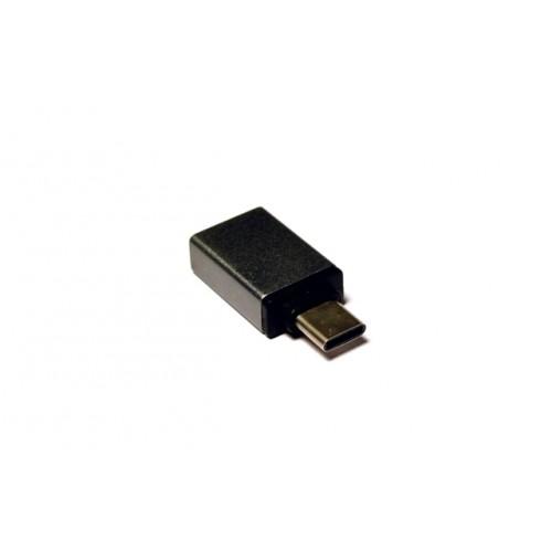 Адаптер USB Type C M в USB 3.0 F (KS-296Grey) серый