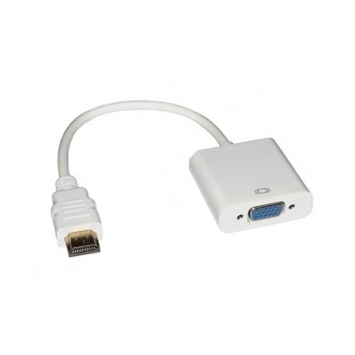 Адаптер HDMI M в VGA F KS-is (KS-315)