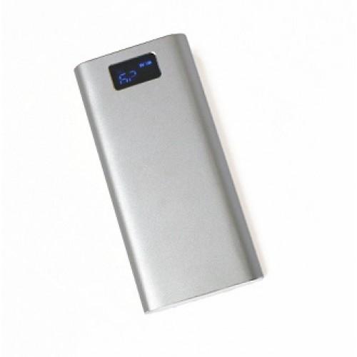 Внешний аккумулятор power bank KS-is (KS-316Silver) 30000мАч, серебро