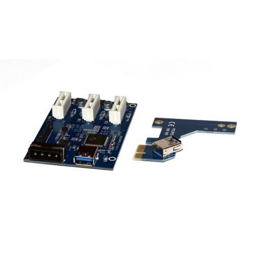 Разветвитель PCI-e на 3 порта KS-is (KS-317)