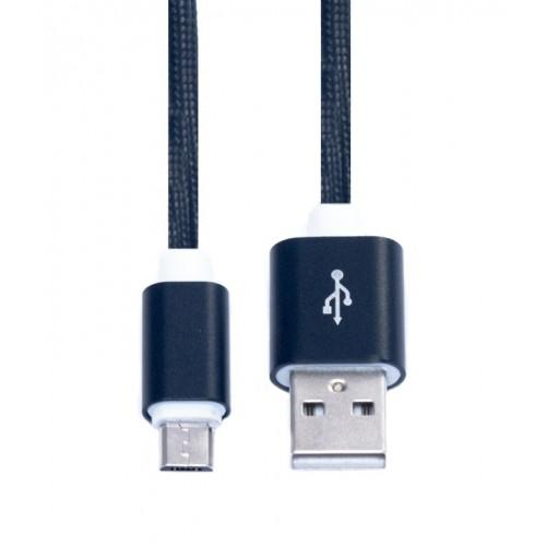 Кабель USB-microUSB KS-is (KS-324B15) 1.5м черн