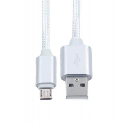 Кабель USB-microUSB KS-is (KS-324S) 1м сер