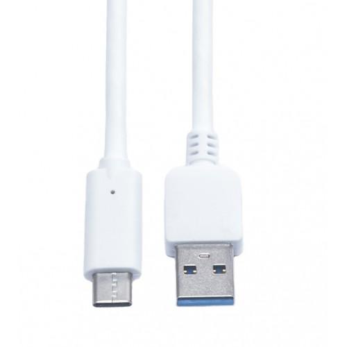 Кабель USB-USB Type C KS-is (KS-325W) 1м бел