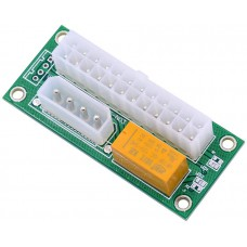 Адаптер синхронизатор блоков питания add2psu ATX 24pin KS-is (KS-345)