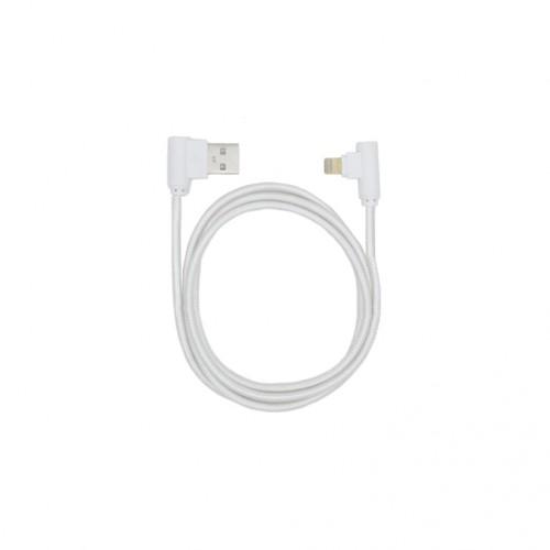 Кабель USB-Apple Lightning угловой KS-is (KS-358W) 1м